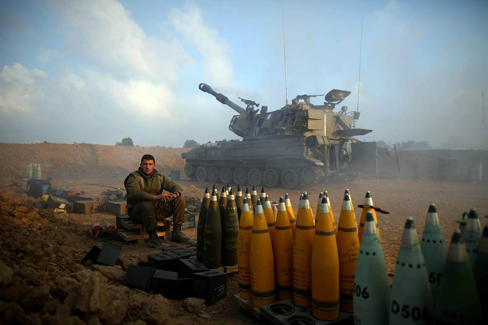 The ground phase of the military operation against Hamas militants began on July 17