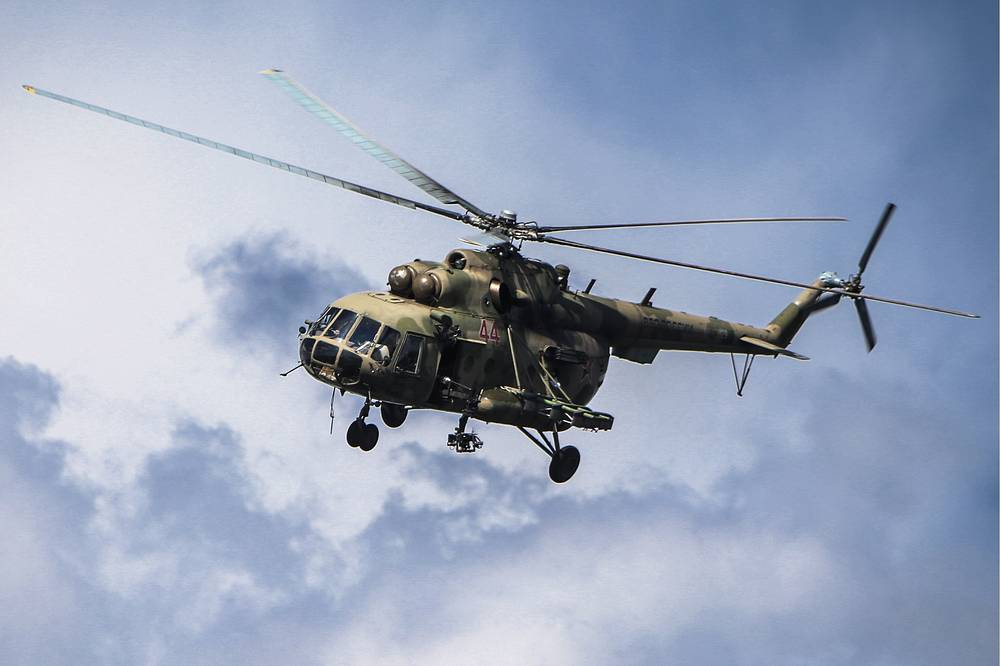 The Mil Mi-8 is the main helicopter of the Russian Air Force. It's  is among the world's most-produced helicopters