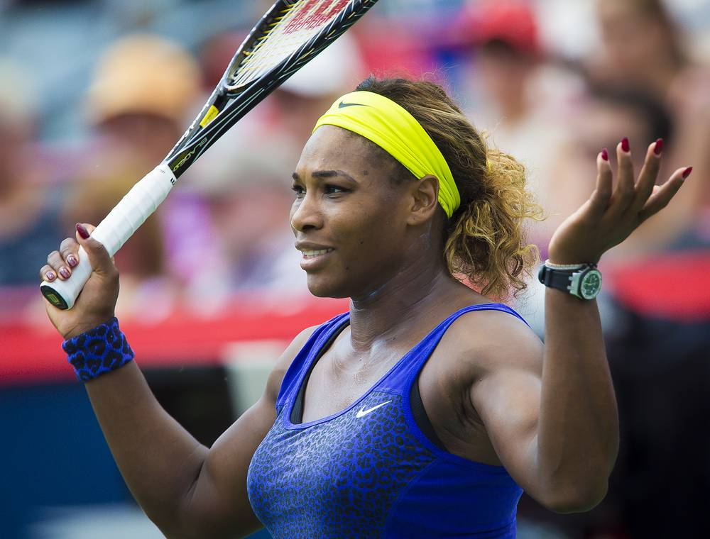Serena Williams ranks No. 3 with earnings of $22 million