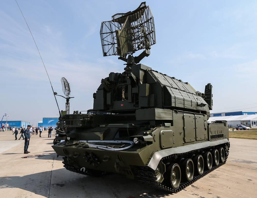 Tor-M1 air defense system