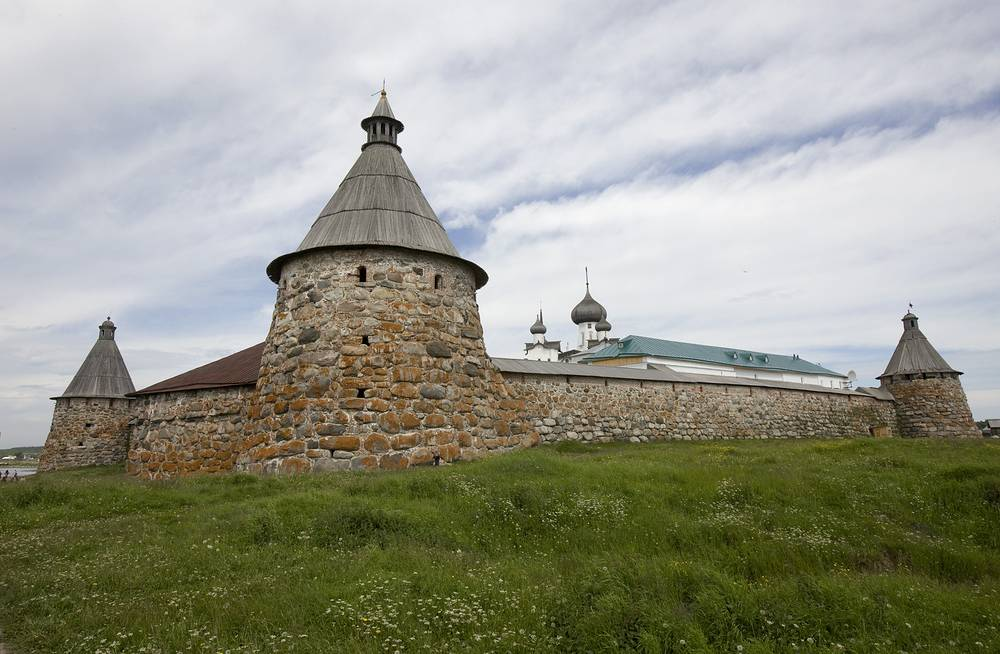 The Solovetsky monastery