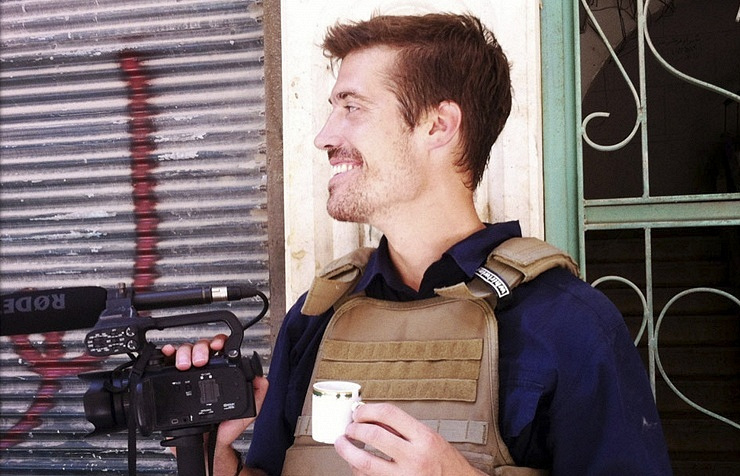 US journalist James Foley