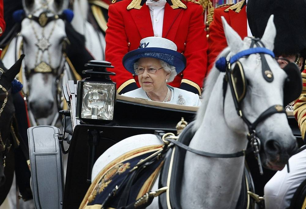 Queen Elizabeth II is officially head of state for 16 countries. Though she has no political powers and her role is nominal and ceremonial, over 128 million people in 15 Commonwealth states (plus the UK) recognise her as their monarch