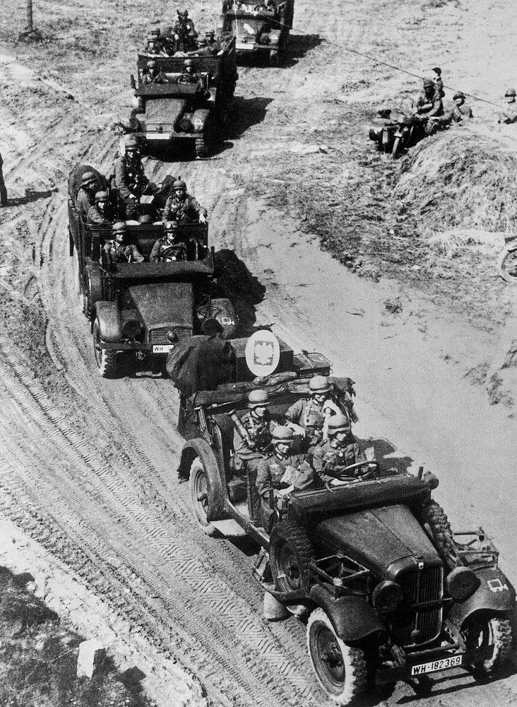German troops in Poland, 1939