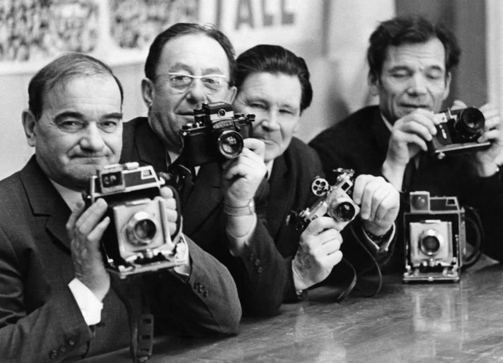 TASS photo correspondents, 1962