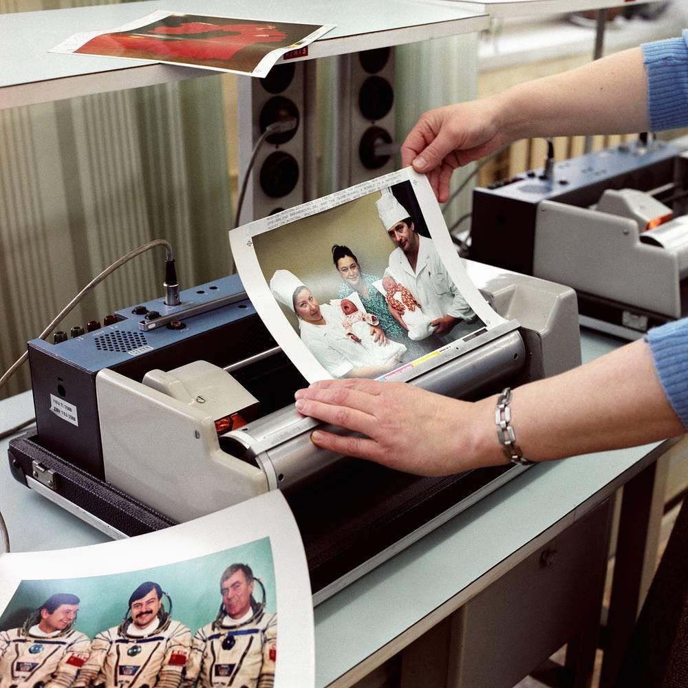 The facsimile transmitter, 1988