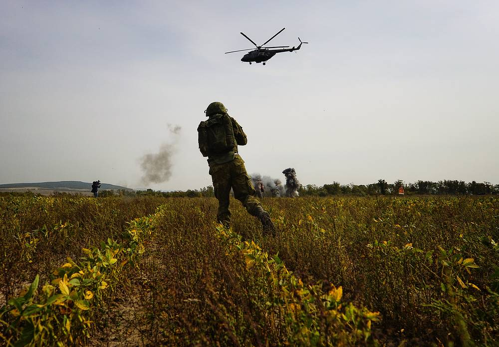 Vostok-2014 military drills