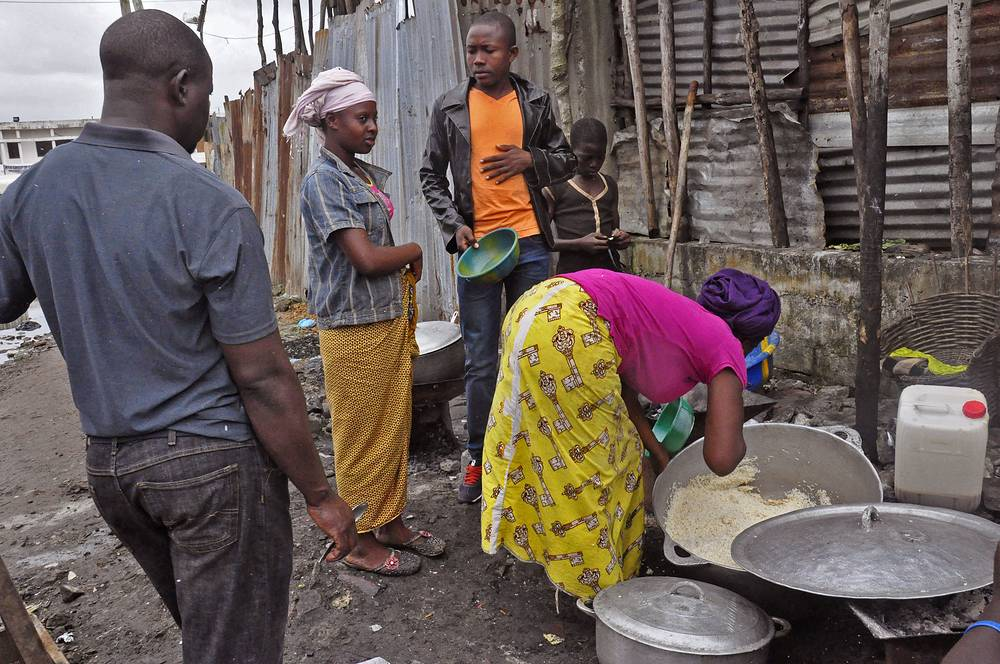 The World Food Program says 1 million people in Guinea, Liberia and Sierra Leone may need food assistance in the coming months, as measures to slow Ebola's spread have caused price hikes and slowed the flow of goods to isolated areas
