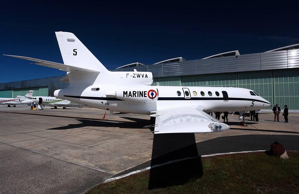 Photo: Dassault Falcon 50 F-GLSA