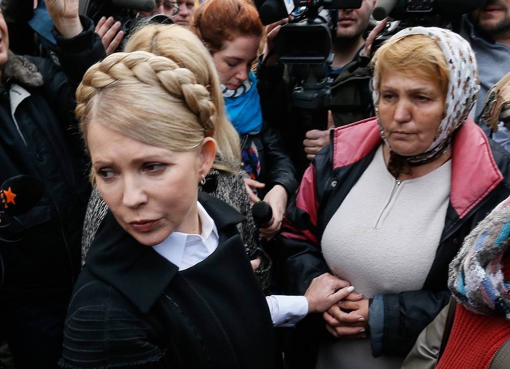The party of former Ukrainian Prime Minister Yulia Tymoshenko, Batkivshchyna, has made NATO membership its major election issue