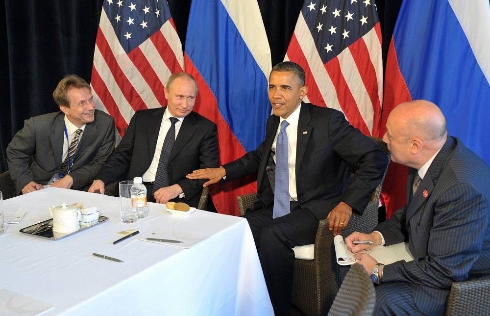 The meeting of Putin and Obama as country's leaders was held ahead of the opening of G20 summit in Los Cabos, Mexico in 2012