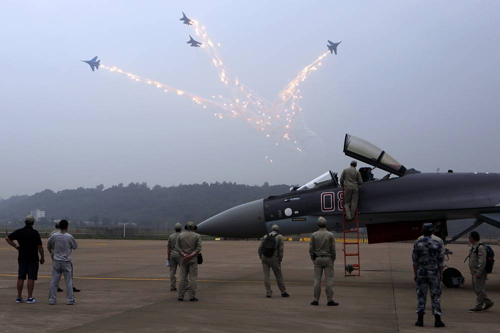 More than 700 companies, 45% of which are foreign are participating in the air show