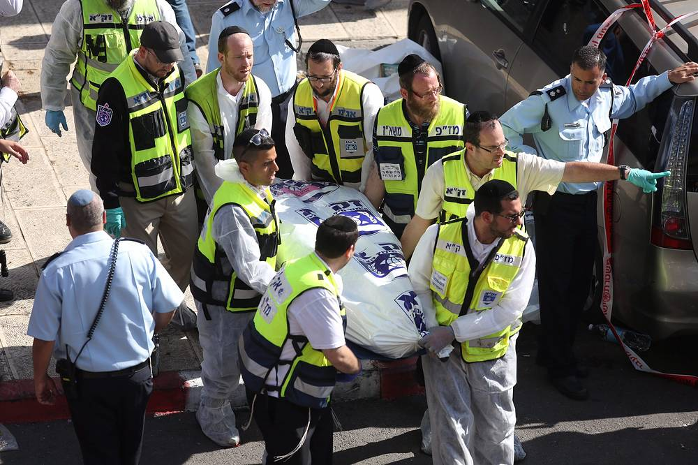 Four Israelis were killed and several others were injured when two armed men attacked a synagogue in the Har Nof neighborhood early on 18 November