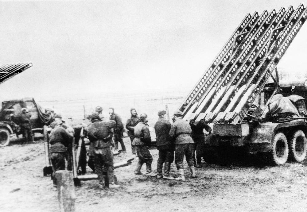 BM-13 rocket launcher is the most famous weapon of the Great Patriotic War. As the weapons were marked with the letter K, Red Army troops adopted a girl name Katyusha from popular wartime song