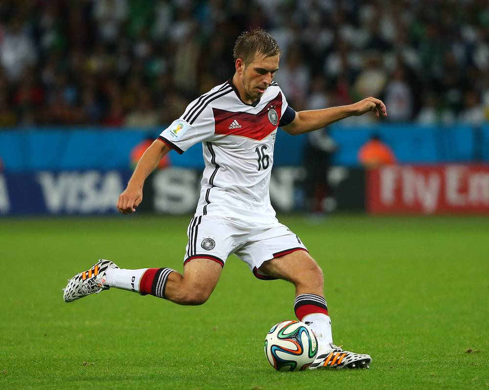 Bayern's Philipp Lahm
