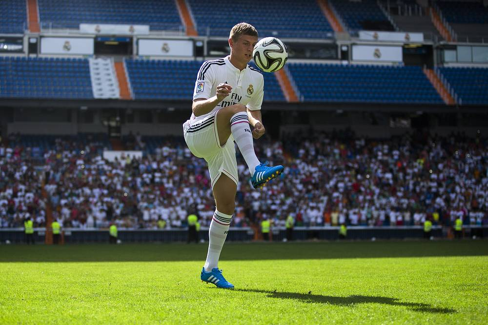 Real Madrid player Toni Kroos