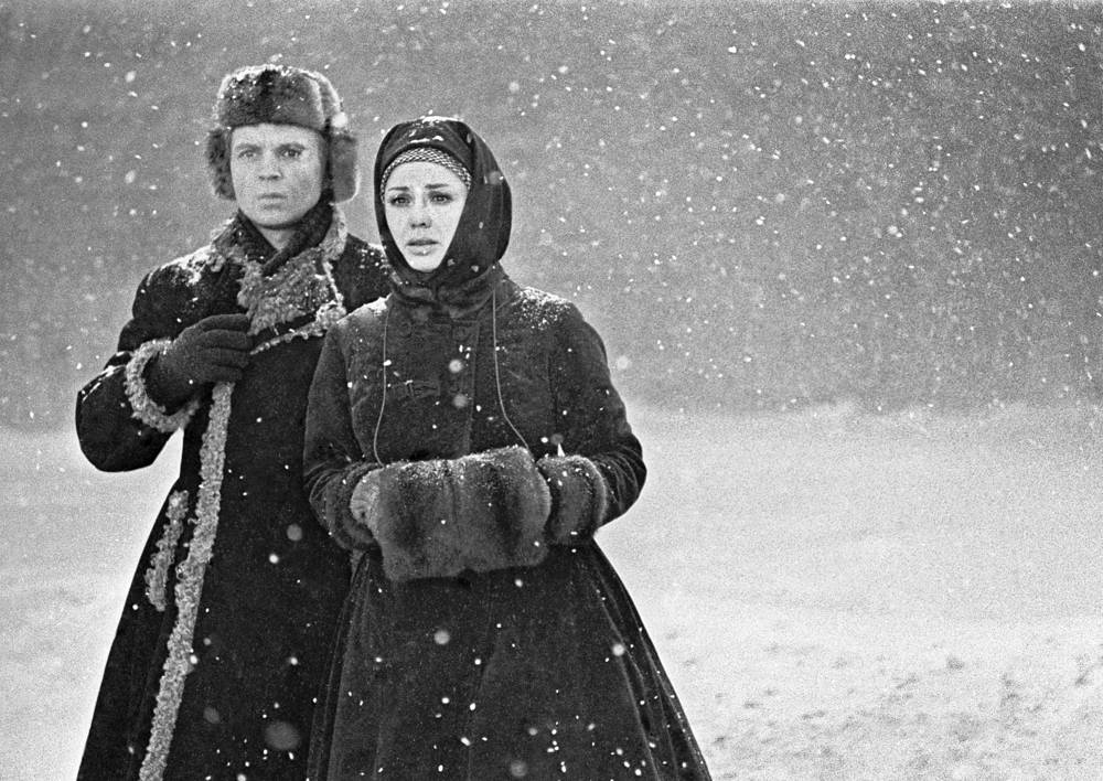 The Brothers Karamazov based on novel by Fyodor Dostoevsky was nominated for Oscar in 1969. Photo: Actors Andrey Myagkov as Alexey Karamazov and Lionella Skirda as Grushenka starring in The Brothers Karamazov