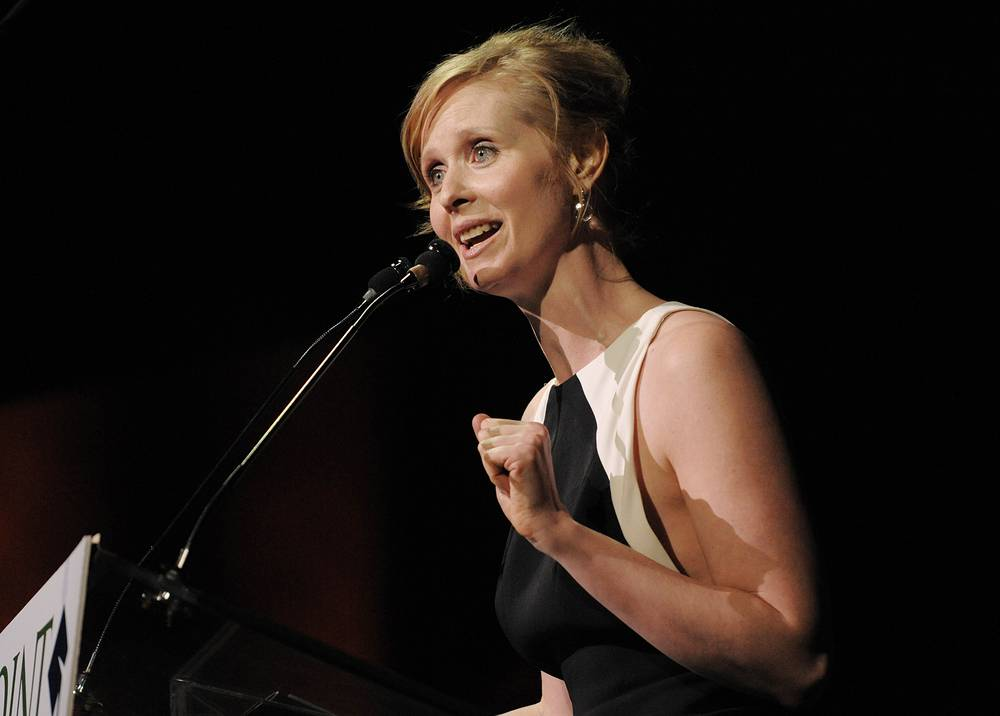 Actress Cynthia Nixon was diagnosed with breast cancer in 2006. Since 2008 she has become a breast cancer activist