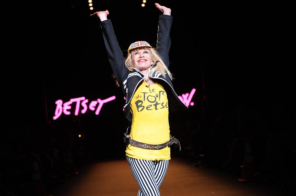 Designer Betsey Johnson was diagnosed with breast cancer in 2000 and underwent radiation therapy
