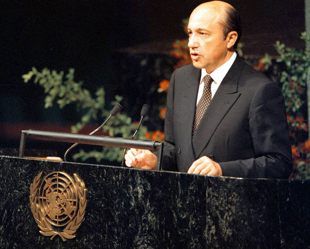 Igor Ivanov was Foreign Minister of Russia from 1998 to 2004. While in office he opposed NATO's action in Yugoslavia and US invasion of Iraq.