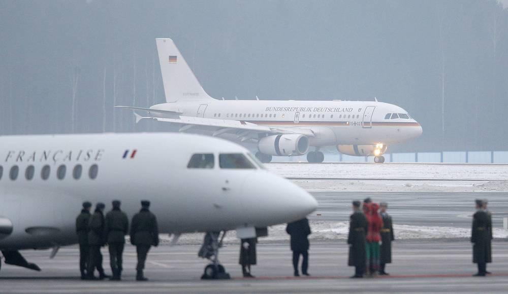Participants of Ukraine settlement talks arriving in Minsk