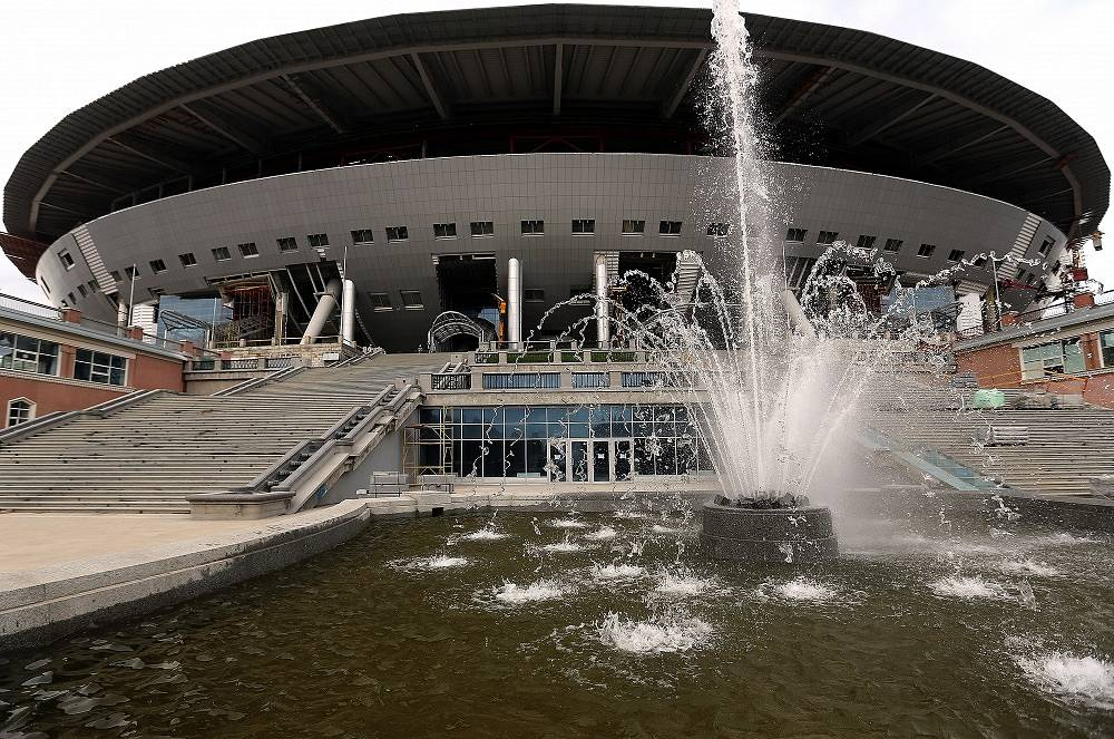 Zenit-Arena in St. Petersburg will hold up to 68 thousand spectators