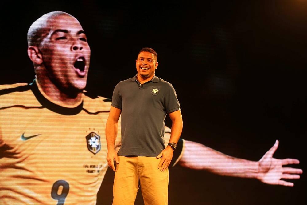 Two-time world champion Brazilian Ronaldo will be assistanting FIFA Secretary General