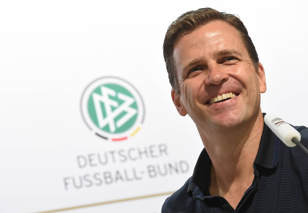 Germany's team manager Oliver Bierhoff