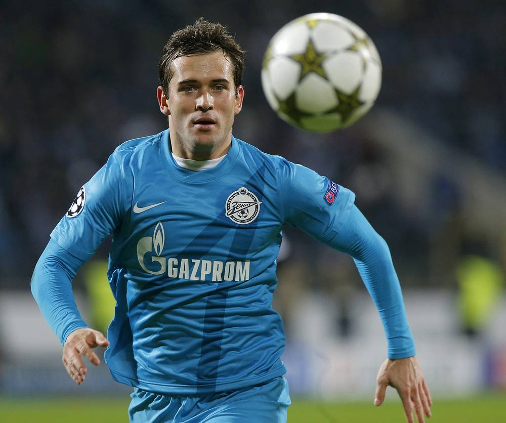 Another Valcke assistant, the top scorer in the history of Russian football Aleksandr Kerzhakov