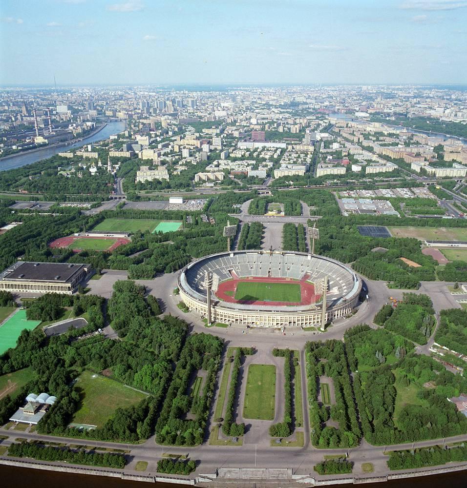 View of the stadium, 1992