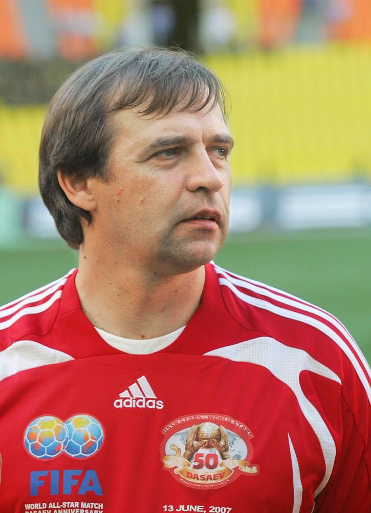 Alexander Borodyuk, a former coach of the Russian national team