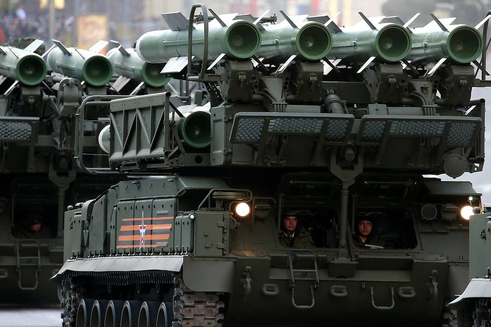 Buk-M2 is a medium-range advanced defense missile complex designed and manufactured by Almaz-Antey
