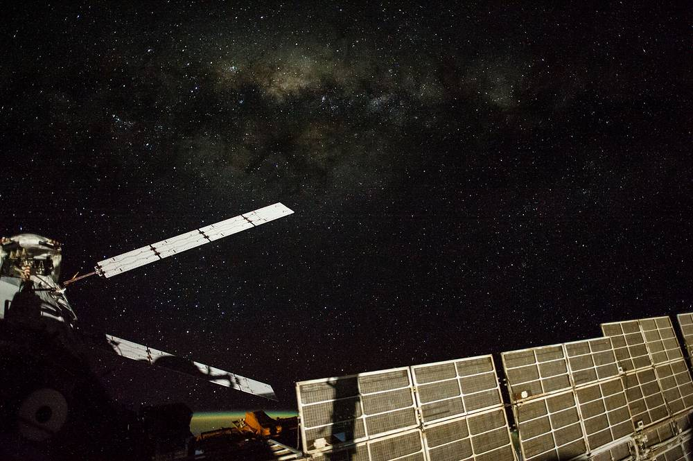 Night Earth observations, Automated Transfer Vehicle 5, September 13, 2014