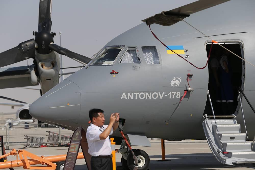 Antonov An-178 short-range military transport aircraft