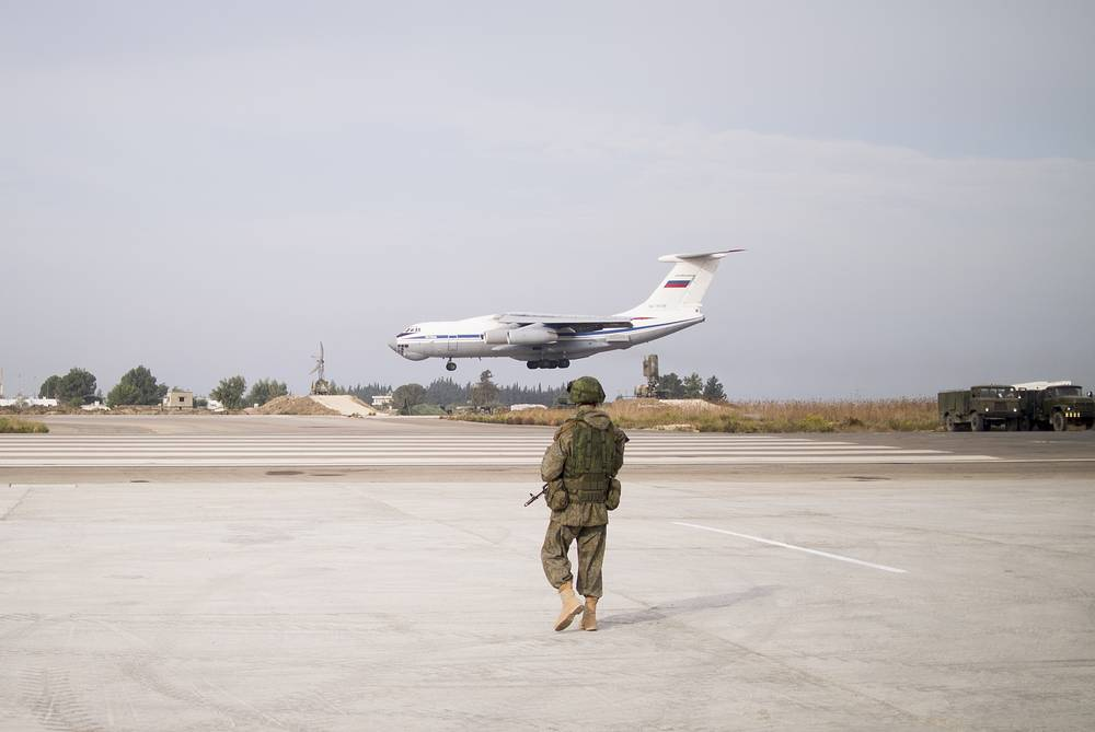 Hmeymim air base