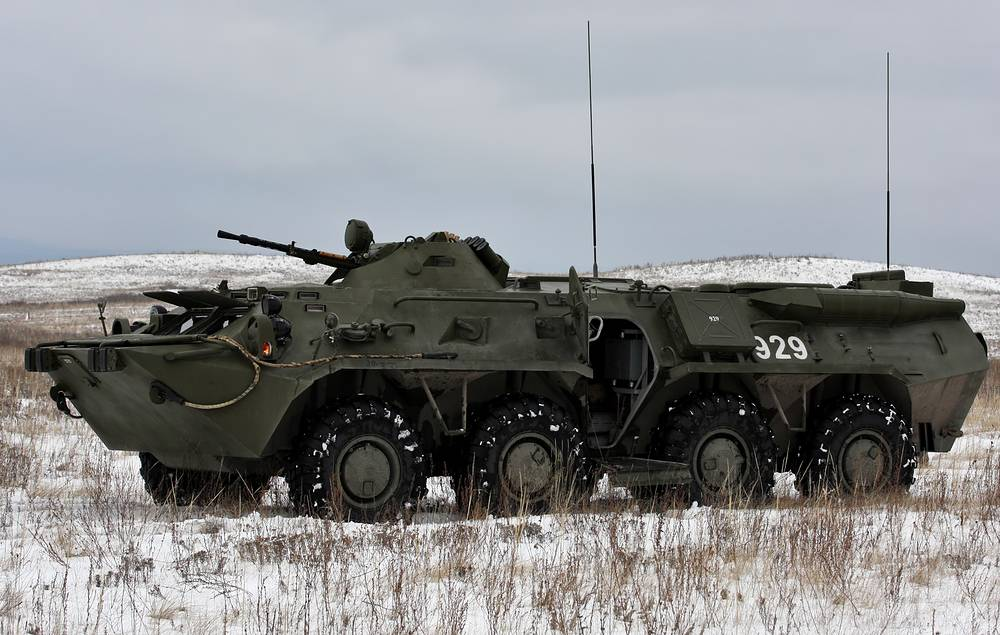 RHM-4 chemical reconnaissance vehicle based on BTR-80 armoured vehicle