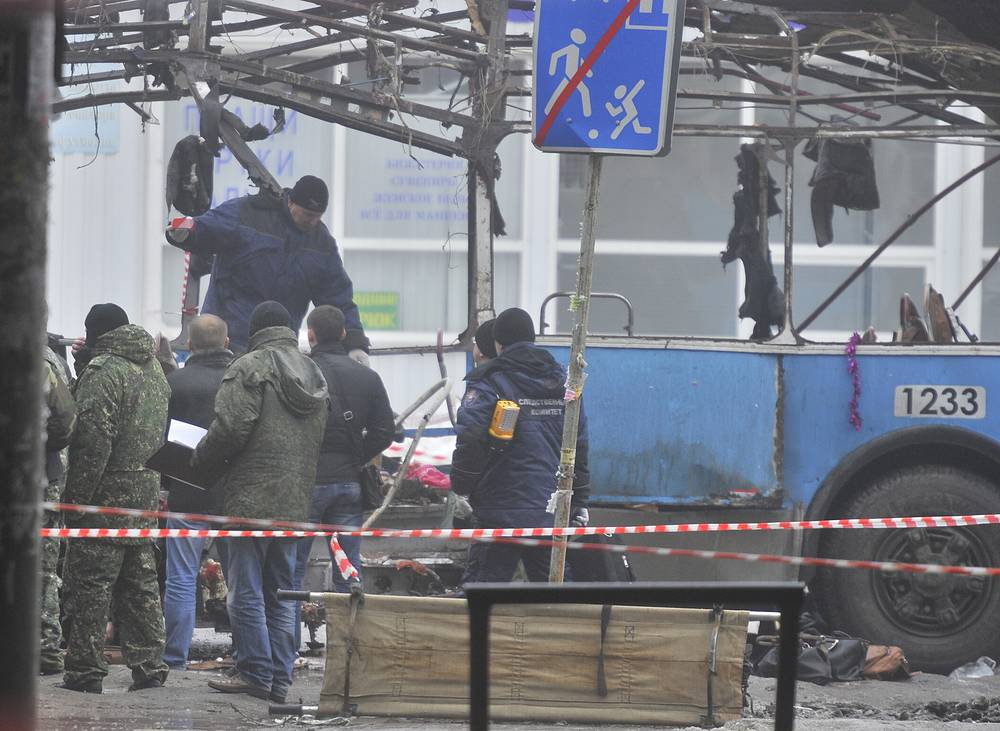 The terrorists responsible for terrorist acts in Volgograd were liquidated during special anti- terrorist operations conducted in the North Caucasus; their accomplices were sentenced to long prison terms