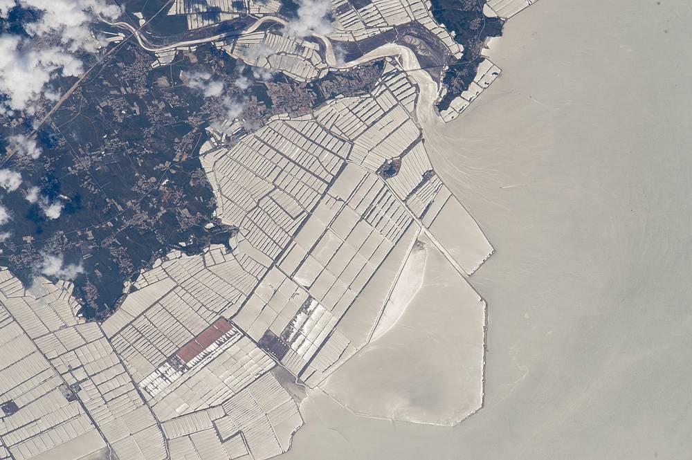 Fish farms basins, NE China
