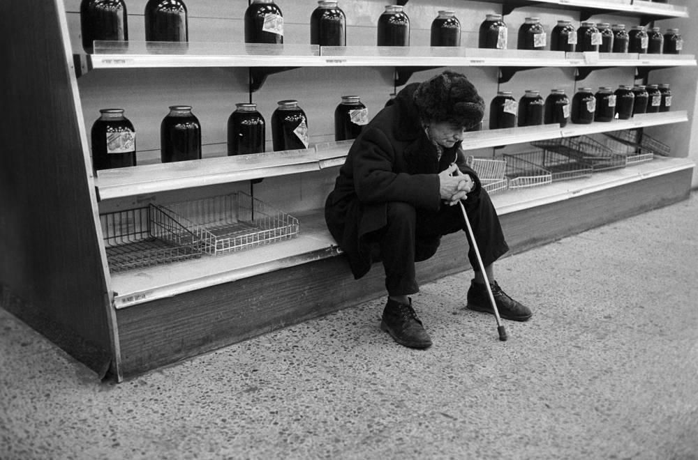 Food shortage in USSR, Nizhny Novgorod, 1991