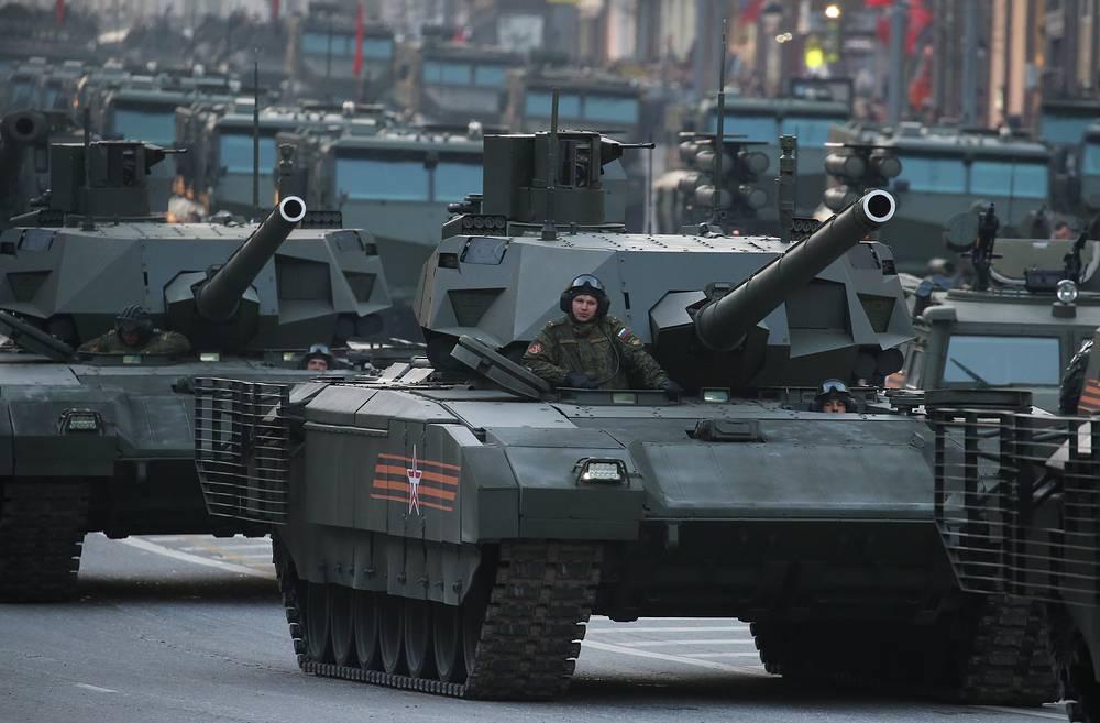 Russia's T-14 Armata tank