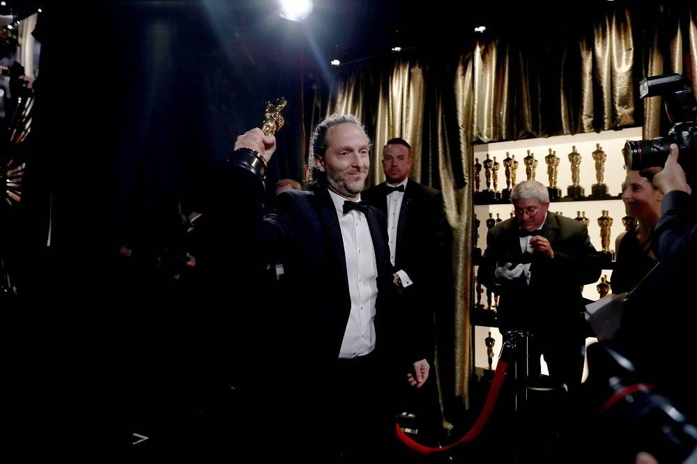 Cinematographer Emmanuel Lubezki, winner of Best Cinematography for 'The Revenant'
