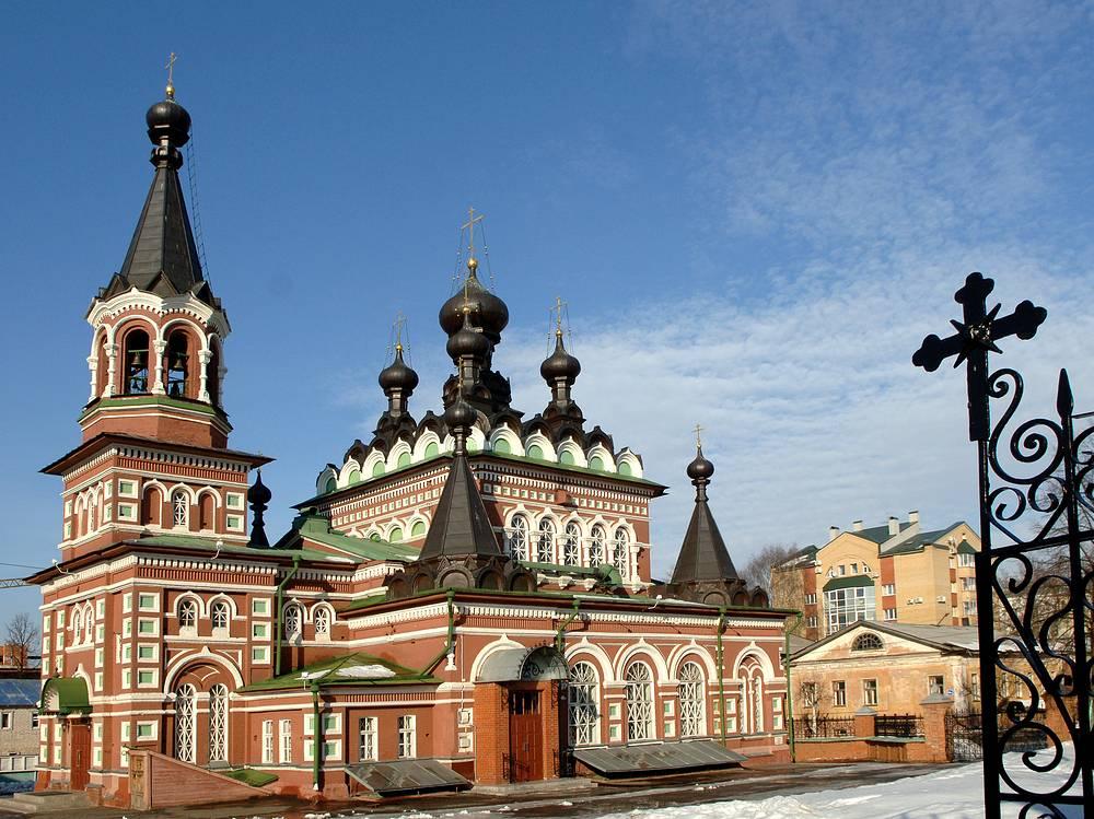 Kirov ranked ninth. Photo: St.Seraphim Cathedral in Kirov