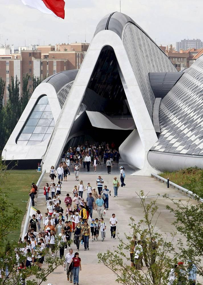 Bridge Pavillion entrance, Zaragoza, Spain