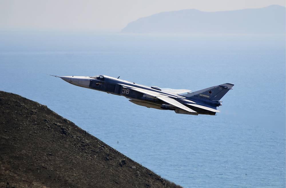 Sukhou Su-24 bomber