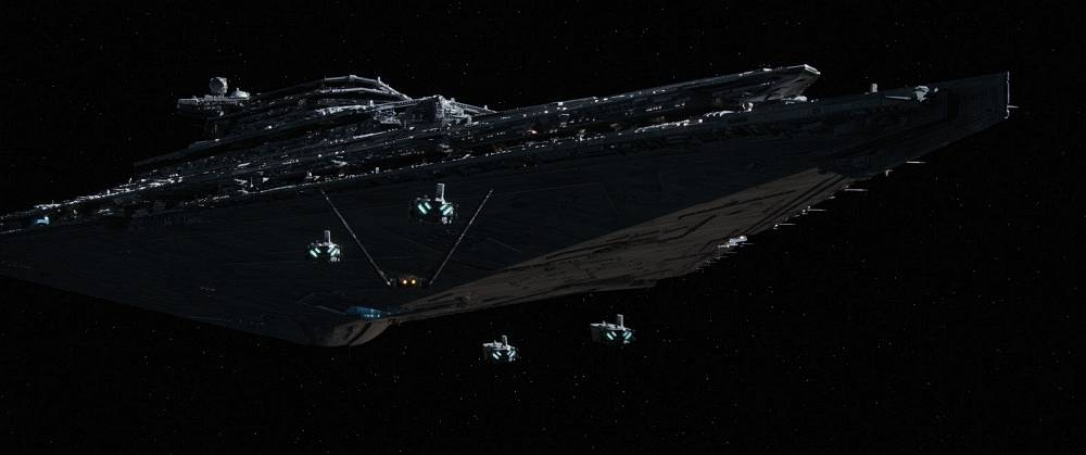 Imperial shuttle from 'Star Wars: The Force Awakens'