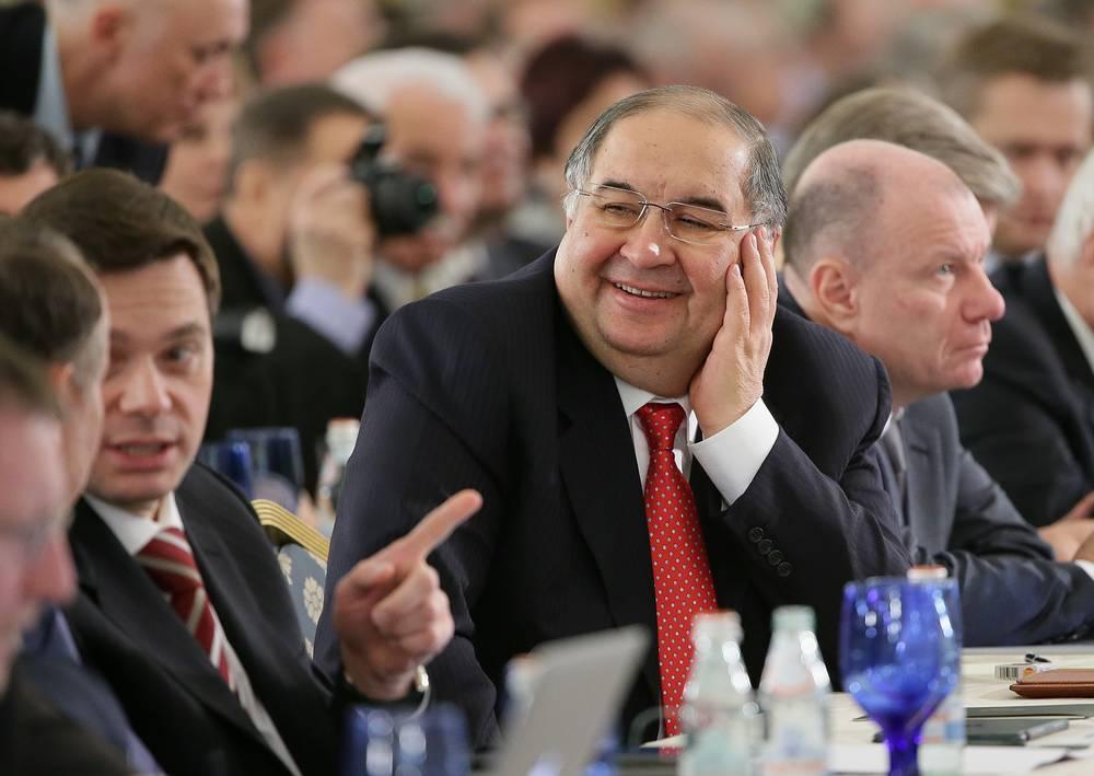 Alisher Usmanov, the majority owner of Russian telecom operator MegaFon, $12.5 bln