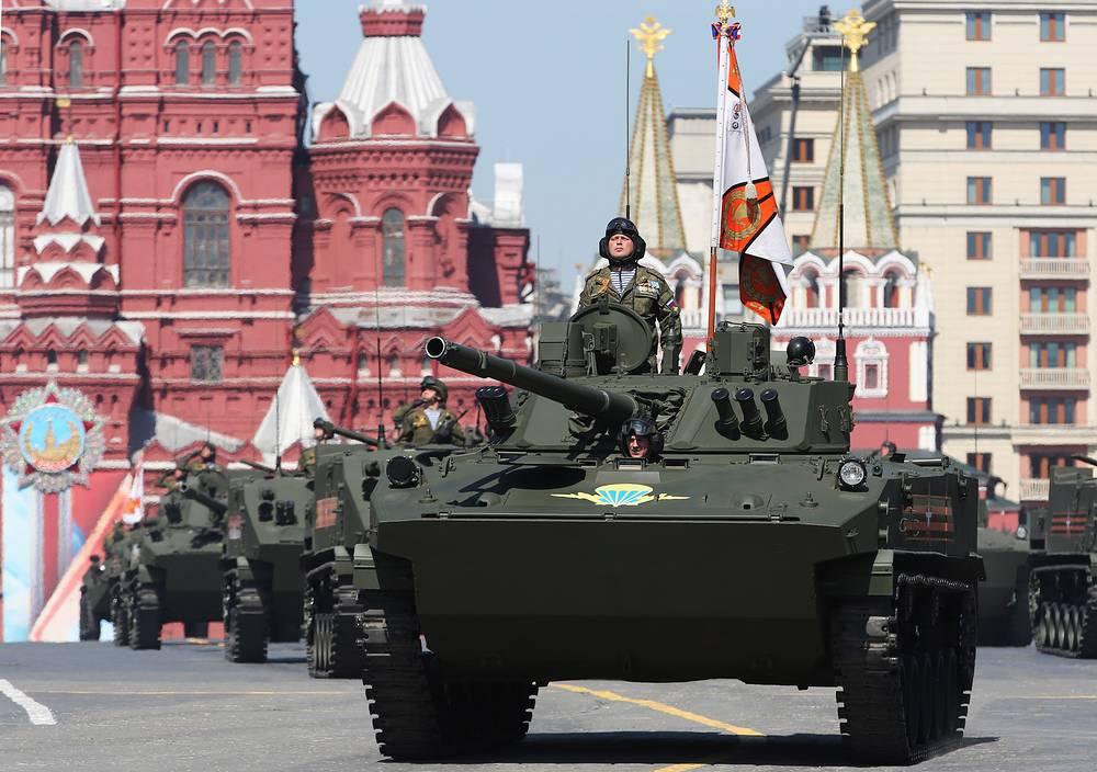 BMD-4M fighting vehicles