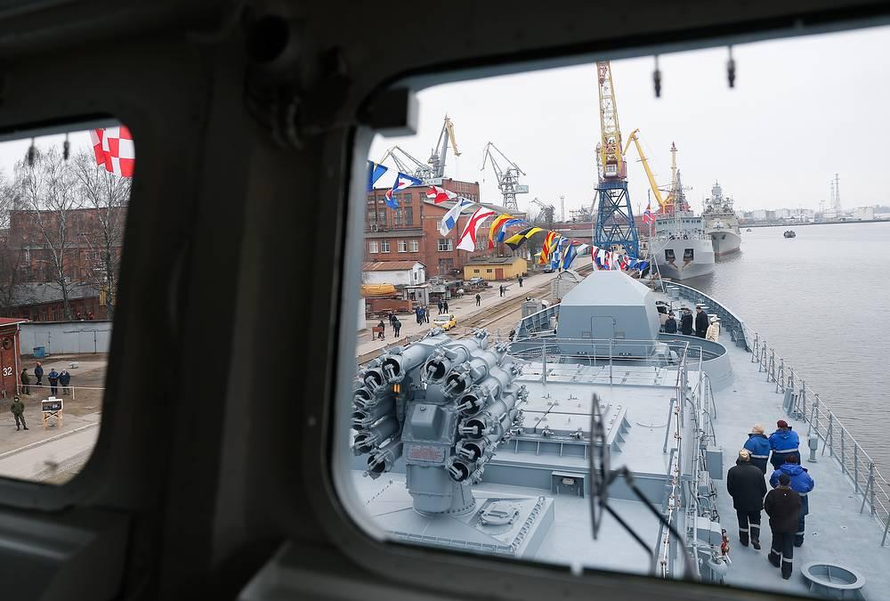 Project 11356 frigate Admiral Grigorovich