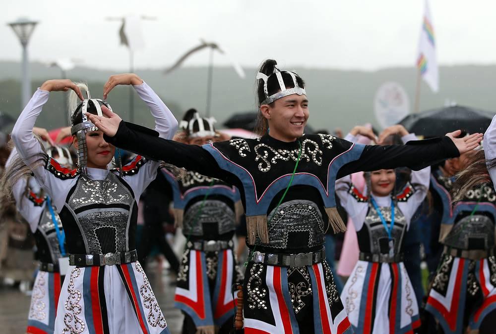 "Participants of ""Far East Street"" festival"