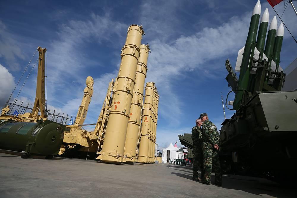 Antey-2500 antiaircraft missile system
